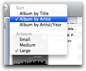 I Tunes, Artwork Size